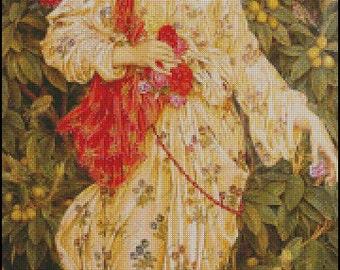 FLORA cross stitch pattern No.690