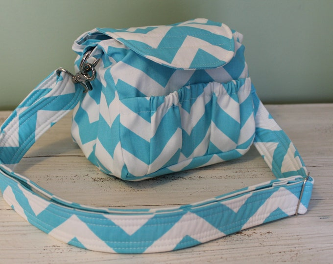 Padded Compact Digital Camera Bag Crossbody by Watermelon Wishes