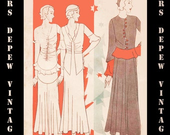 Vintage Pattern Catalog Booklet McCall Style News December 1931 PDF Digital Copy -INSTANT DOWNLOAD-