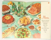 Vintage 7-Up Cookbook Booklets from the 1960s, Punch and Party Recipes