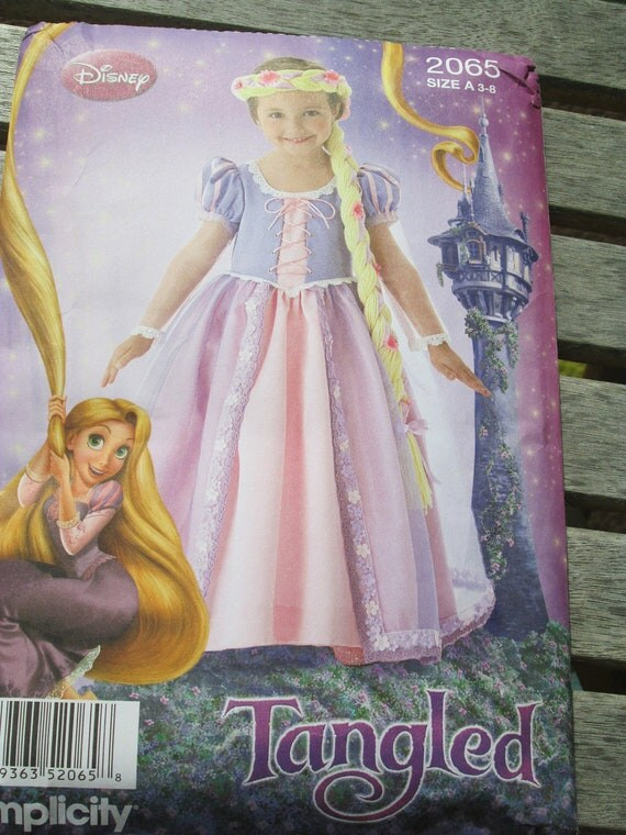 Tangled Rapunzel Costume Pattern by Simplicity by ...