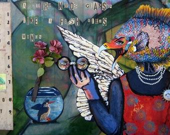 Birds Need Glasses Like Fish Need Wings