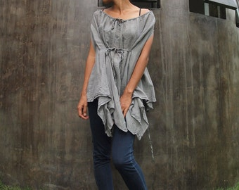 30 USD SALE  Darling overlay tunic cotton mixed with silk in all colors (M, L)(1147)