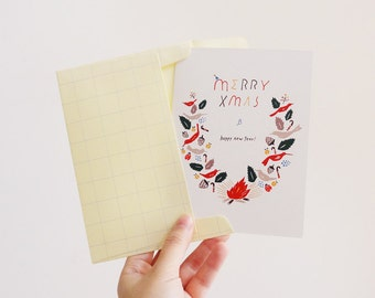 Xmas Forest Card(Set of 2)