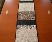 Contemporary Quilted Reversible Table Runner