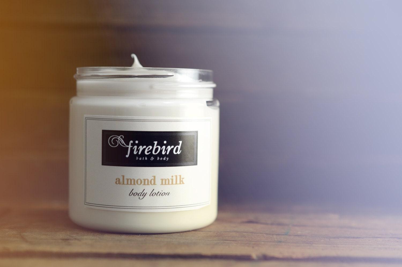 Almond body cream