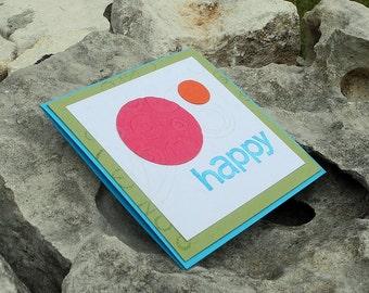 Happy Dots Gift Enclosure Card
