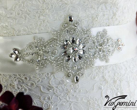 Wedding Sash Belt Vintage, Bridal Belt Vintage, Bridal Belt , Wedding Sash Belt, Rhinestone Sash Belt, Crystal Sash, Crystal Wedding Sash