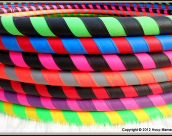The ULTRAGRIP - Design Your Own 2 Color Travel Starter / Budget Hula Hoop - BeSt SeLeCtioN of CoLoRs ONLINE & Over 15,000 Hoops Sold.
