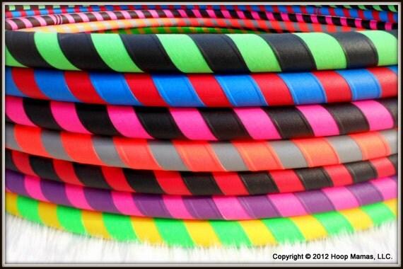 The ULTRAGRIP - Design Your Own 2 Color Travel Starter / Budget Hula Hoop - BeSt SeLeCtioN of CoLoRs ONLINE & Over 28,000 Hoops sold!