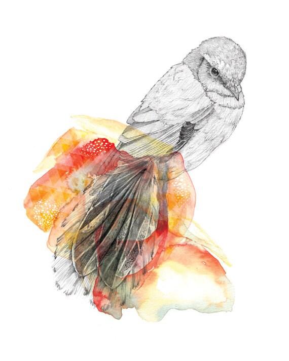 Sun Bird    A4 SIZE
