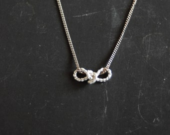 Sailor's Infinity Love Knot necklace