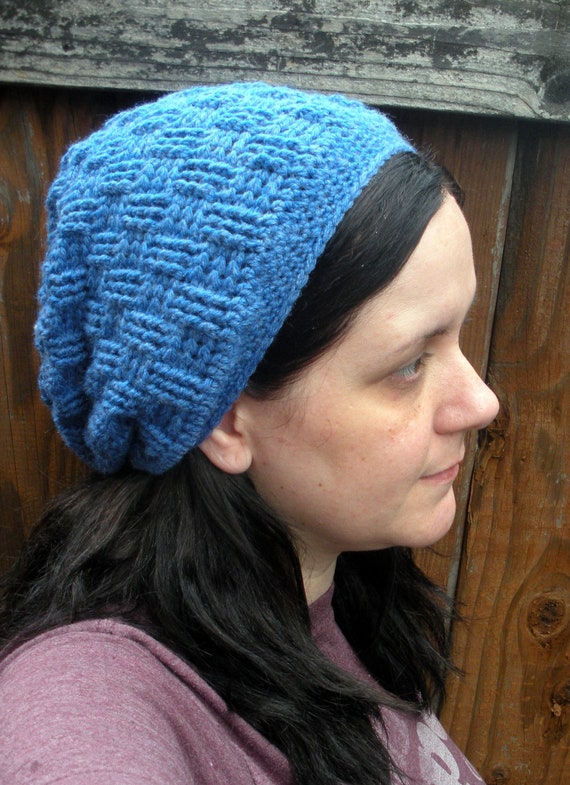 Crochet Basket Weave Hat Pattern Gallery Knitting Patterns Free