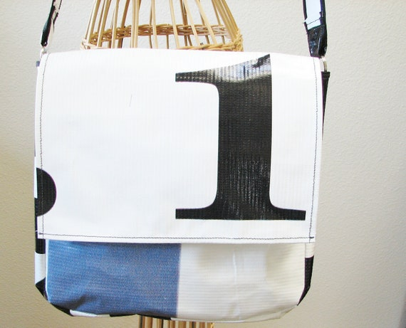 SUMMER SALE:  Messenger Bag from Recycled Billboard Sign