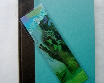 BOOKMARK - Alligator and Butterfly - Tropics