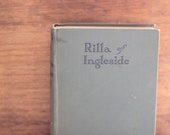 Rilla of Ingleside, LM Montgomery Vintage Book