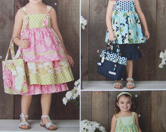 SEE SHOP ANNOUNCEMENT for % Off Coupon Code - Dress, Top, Pants, Bag & Hair Accessory - Simplicity 2171 Pattern - Uncut