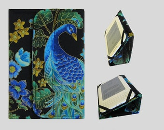 Standable Kindle Cover, Kindle Fire Case, Nook Cover, Kobo Case, Nexus 7 Cover, Kindle Fire HDX, iPad Mini, Dell Venue Peacock