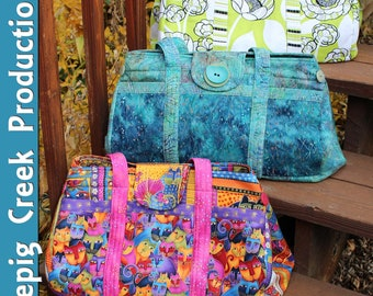 PDF - The Big Easy Expanding Tote Sewing Pattern