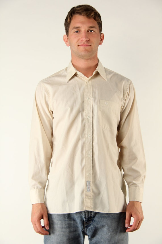 Items similar to vintage 1980s 80s christian dior large for Christian dior button up shirt