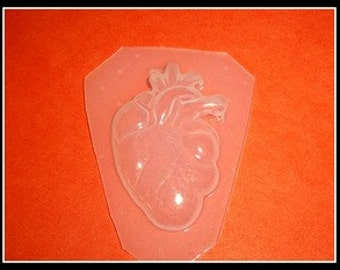 SALE My anitomical Heart Plastic resin Mold