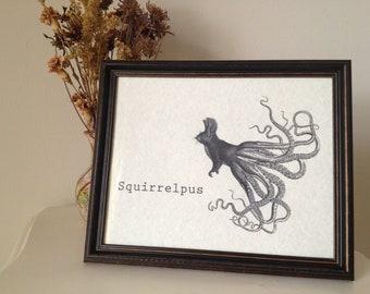 Squirrelpus Print 8 x 10