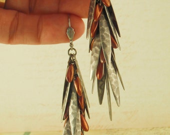 SALE Shaggy Dagger Earrings Kit - You Pick - Beginners and Intermediate