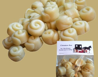 CINNAMON BUN Wax Melts, Wax Tarts, Scented Embeds