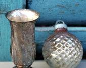 Silver plate Little Vase