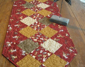 SALE The Cowboy Quilted Table Runner