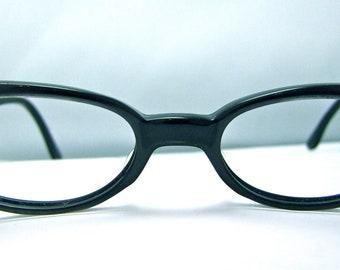 1950s Cats Eye Eyeglasses With Stars // Century Brand USA