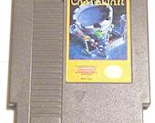 Retro Castelian Nintendo Entertainment System NES Vintage Platform Castle Fantasy Frog Techie Tower Video Game Old School Geekery Gamer Gift