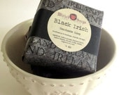 Black Irish Natural Soap Bar Mens Soap by WickedSoaps