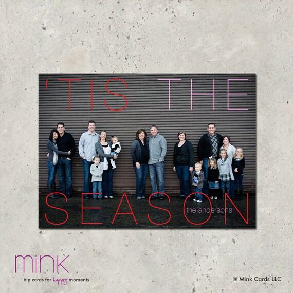 "christmas card -  ""Tis the Season"""