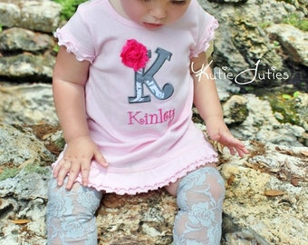 Girls Birthday Tunic Dress - Personalized Girls Birthday Shirt - Girls First Birthday Dress