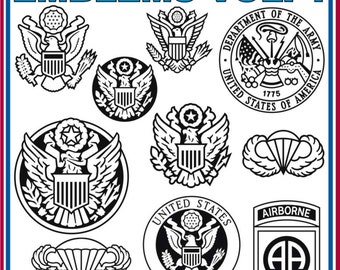 Emblems Vol. 1 (40) Vector Clipart
