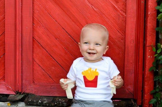 French Fries Baby Clothes