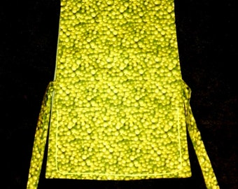 Kitchen Cobbler Apron Smock Packed Green Grapes