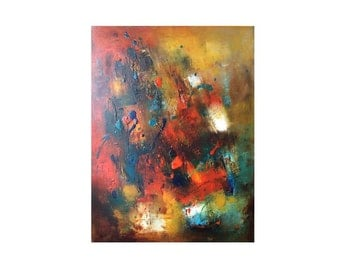 "Abstact painting oil  on canvas 18""x24"" Abstract original painting oil on canvas"