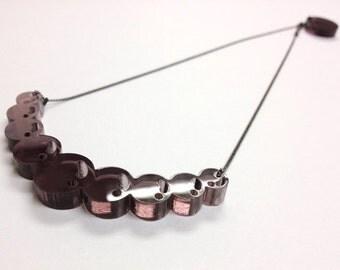 Color Bubble Pearl Necklace