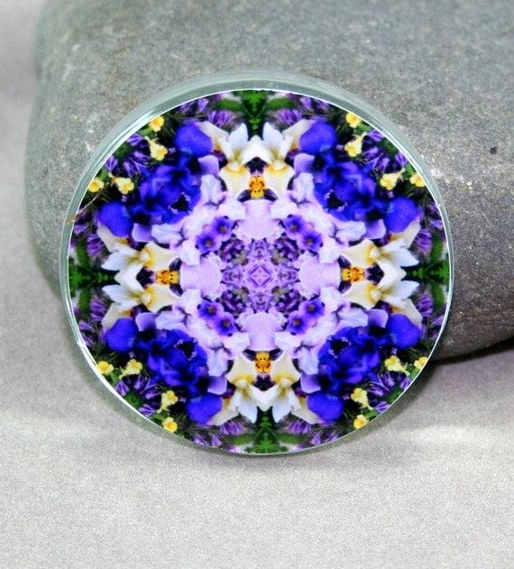 Iris Magnet Boho Chic Mandala New Age Sacred Geometry Hippie Kaleidoscope Eternal Elation