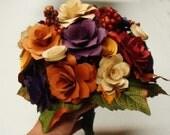 Paper Flower  Wedding Bouquet  Rehearsal bouquet Toss Bouquet Handmade Paper Flower  Custom  Orders  Welcome