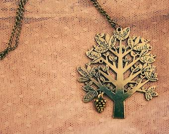 Wisdom tree necklace