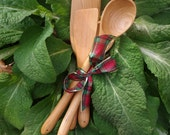 Handmade Cherry Utensils - Gift Set of 4