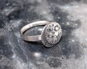 Moon Ring - Silver Space Jewellery
