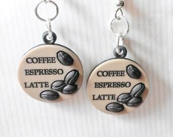 SALE Coffee Earrings Jewelry Women Gifts Teen Girl Espresso Latte Trending Jewelry Popular