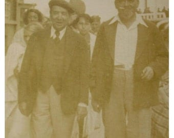 French Vintage Photo - Two Old French Men