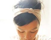 Super Tie Up Headscarf/Headband - Gold Sparkle  FREE UK SHIPPING
