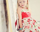 Easter Floral Dress - Vintage Modern - 3T - Ready to Ship