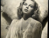 Rare Original Judy Garland Portrait by CS Bull / Published Many Times